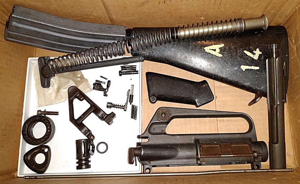 M16A1-type build: parts kit is here + Milpar bayonet - AR15 COM